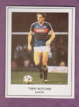 Ipswich Town Terry Butcher England (VB)